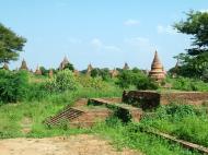 Asisbiz Panoramic views Bagan Myanmar Dec 2000 67