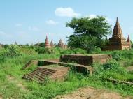 Asisbiz Panoramic views Bagan Myanmar Dec 2000 68