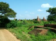 Asisbiz Panoramic views Bagan Myanmar Dec 2000 69