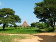 Asisbiz Panoramic views Bagan Myanmar Dec 2000 81