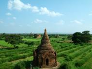 Asisbiz Panoramic views Bagan Myanmar Dec 2000 89