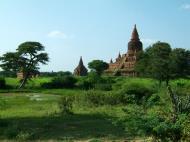 Asisbiz Panoramic views Bagan Myanmar Dec 2000 96