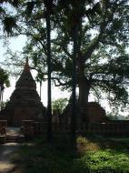 Bagaya Kyaung Monastery Pagoda Ruins Inwa Jan 2001 01