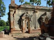 Bagaya Kyaung Monastery Pagoda Ruins Inwa Jan 2001 04
