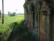 Asisbiz Bagaya Kyaung Monastery Pagoda Ruins Inwa Jan 2001 09