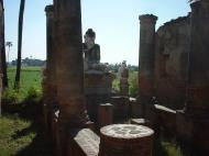 Bagaya Kyaung Monastery Pagoda Ruins Inwa Jan 2001 10