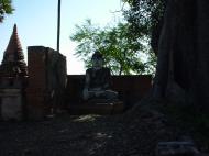 Asisbiz Bagaya Kyaung Monastery Pagoda Ruins Inwa Jan 2001 14
