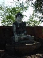 Bagaya Kyaung Monastery Pagoda Ruins Inwa Jan 2001 16