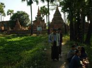 Asisbiz Bagaya Kyaung Monastery Pagoda Ruins Inwa Jan 2001 17