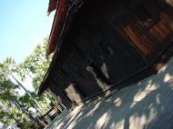 Bagaya Kyaung Monastery or Teak Monastery Jan 2001 06