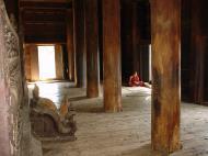 Bagaya Kyaung Monastery or Teak Monastery Jan 2001 09