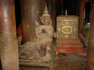 Bagaya Kyaung Monastery or Teak Monastery Jan 2001 10