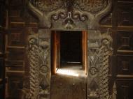 Bagaya Kyaung Monastery or Teak Monastery Jan 2001 11