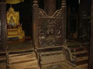 Bagaya Kyaung Monastery or Teak Monastery Jan 2001 14
