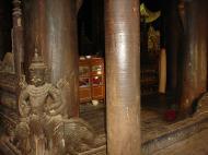 Bagaya Kyaung Monastery or Teak Monastery Jan 2001 16