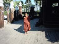 Bagaya Kyaung Monastery or Teak Monastery Jan 2001 18