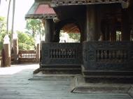 Bagaya Kyaung Monastery or Teak Monastery Jan 2001 20