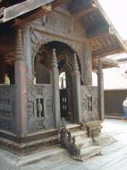 Bagaya Kyaung Monastery or Teak Monastery Jan 2001 21