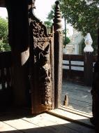 Bagaya Kyaung Monastery or Teak Monastery Jan 2001 23