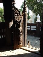 Asisbiz Bagaya Kyaung Monastery or Teak Monastery Jan 2001 23