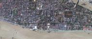 Asisbiz 1 Satellite map Yangon Botahtaung Pagoda Royal Palace main pagoda 01