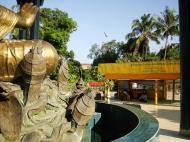 Asisbiz Yangon A Thi Tha Di Bronze Statue of Buddha Dec 2009 16