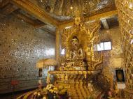 Asisbiz Yangon Botahtaung Pagoda Royal Palace Bronze Buddha Jan 2010 03