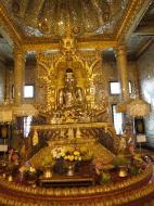 Asisbiz Yangon Botahtaung Pagoda Royal Palace Bronze Buddha Jan 2010 07