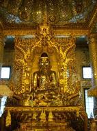 Asisbiz Yangon Botahtaung Pagoda Royal Palace Bronze Buddha Jan 2010 09