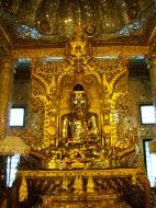 Asisbiz Yangon Botahtaung Pagoda Royal Palace Bronze Buddha Jan 2010 11