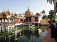 Asisbiz Yangon Botahtaung Pagoda Royal Palace main pagoda pond Jan 2010 03