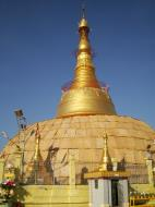 Asisbiz Yangon Botahtaung Pagoda Royal Palace main pagoda pond Jan 2010 10