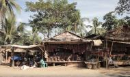 Asisbiz Local cottage industry farming dried catfish production village sales 01