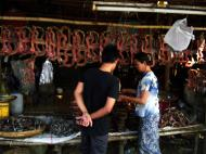 Asisbiz Local cottage industry farming dried catfish production village sales 03