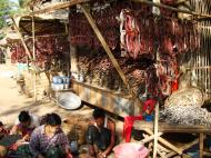 Asisbiz Local cottage industry farming dried catfish production village sales 04