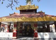 Asisbiz Hlwaga Lake Pagoda main Buddha Mingaladon Yangon Myanmar Jan 2010 02