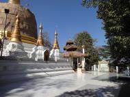 Asisbiz Hlwaga Lake Pagoda main patio Mingaladon Yangon Myanmar Jan 2010 03