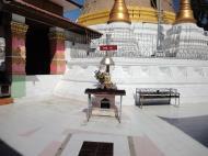 Asisbiz Hlwaga Lake Pagoda main stupa Mingaladon Yangon Myanmar Jan 2010 01