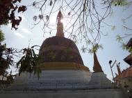 Asisbiz Hlwaga Lake Pagoda main stupa Mingaladon Yangon Myanmar Jan 2010 03