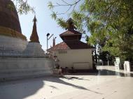 Asisbiz Hlwaga Lake Pagoda main stupa Mingaladon Yangon Myanmar Jan 2010 04