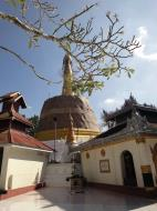 Asisbiz Hlwaga Lake Pagoda main stupa Mingaladon Yangon Myanmar Jan 2010 08