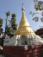Asisbiz Hlwaga Lake Pagoda minor payas Mingaladon Yangon Myanmar 2010 01