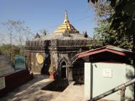 Asisbiz Hlwaga Lake Pagoda minor payas Mingaladon Yangon Myanmar 2010 02