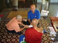 Asisbiz Hmawbi Monastery Ordination Ric and Ree Dec 2000 01