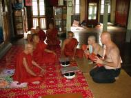 Asisbiz Hmawbi Monastery Ordination Ric and Ree Dec 2000 04
