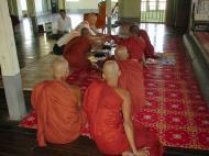 Asisbiz Hmawbi Monastery Ordination Ric and Ree Dec 2000 05