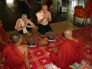 Asisbiz Hmawbi Monastery Ordination Ric and Ree Dec 2000 06