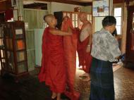 Asisbiz Hmawbi Monastery Ordination Ric and Ree Dec 2000 07
