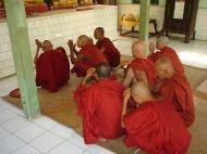 Asisbiz Hmawbi Monastery Ordination Ric and Ree Dec 2000 12