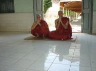 Asisbiz Hmawbi Monastery Ordination Ric and Ree Dec 2000 13